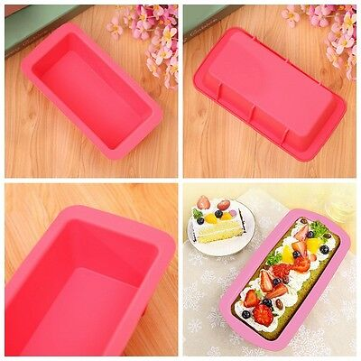 Silicone Bread Loaf Cake Mold Non Stick Bakeware Baking Pan Oven Kitchen Mould