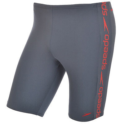 Speedo Superiority Mens Swimming Swim Swimwear Jammers Shorts - Grey