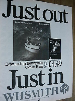 Echo & The Bunnymen - Magazine Cutting (Full Page Advert) (Ref T11)