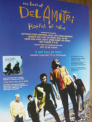 Del Amitri - Magazine Cutting (Full Page Advert) (Ref T17)