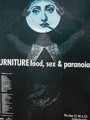 Furniture - Magazine Cutting (Full Page Advert) (Ref Sd)
