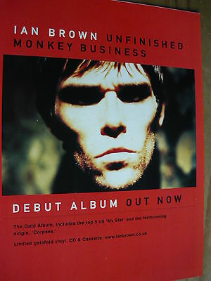 Ian Brown - Magazine Cutting (Full Page Advert) (Ref Sn)