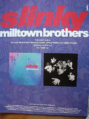 Milltown Brothers - Magazine Cutting (Full Page Advert) (Ref Se)