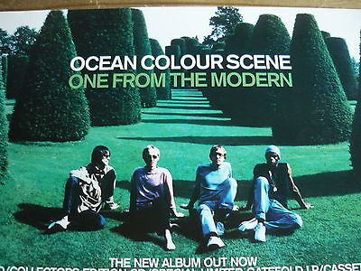 Ocean Colour Scene - Magazine Cutting (Full Page Advert) (Ref T18)