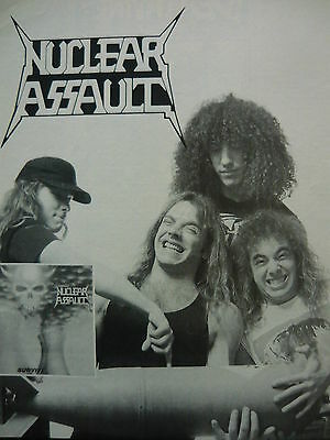 Nuclear Assault - Magazine Cutting (Full Page Advert) (Ref K2)