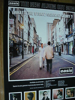 Oasis - Magazine Cutting (Full Page Advert) (Ref Sn1)