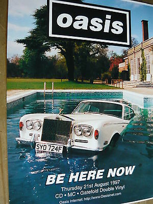 Oasis - Magazine Cutting (Full Page Advert) (Ref T13B)