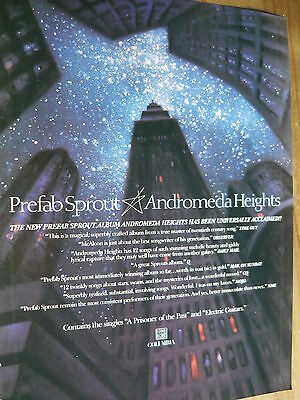 Prefab Sprout - Magazine Cutting (Full Page Advert) (Ref Sn)