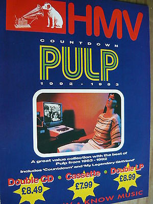 Pulp - Magazine Cutting (Full Page Advert) (Ref Sk)