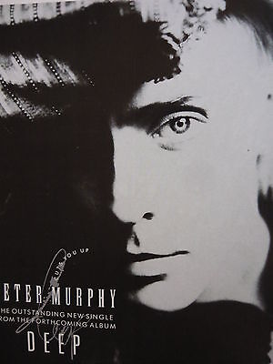 Peter Murphy - Magazine Cutting (Full Page Advert) (Ref Sd)