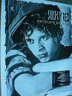 Simply Red - Magazine Cutting (Full Page Advert) (Ref Ka2)
