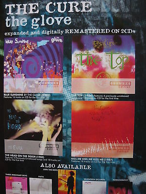 The Cure - Magazine Cutting (Full Page Advert) (Ref Sc)