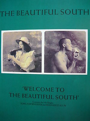 The Beautiful South - Magazine Cutting (Full Page Advert) (Ref Sf)