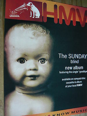 The Sundays - Magazine Cutting (Full Page Advert) (Ref Sk)