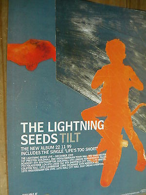 The Lightning Seeds - Magazine Cutting (Full Page Advert) (Ref T18)