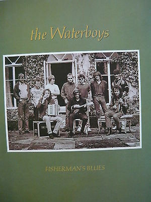 The Waterboys - Magazine Cutting (Full Page Advert) (Ref Sg)