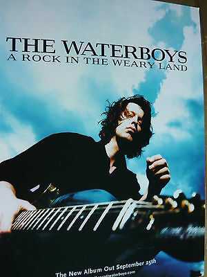 The Waterboys - Magazine Cutting (Full Page Advert) (Ref T18)