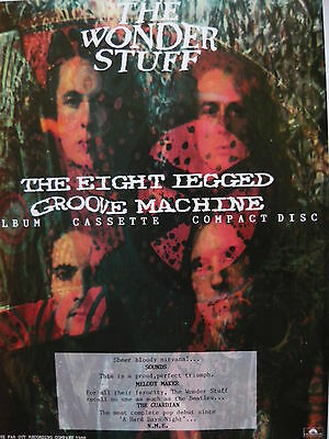 The Wonder Stuff - Magazine Cutting (Full Page Advert) (Ref Sg)