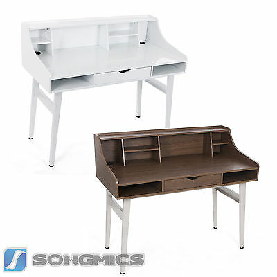 Songmics MDF Computer Desk Dressing Table Study Table 120 x 60 x 100 cm