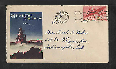 1942 Give Them The Tools To Finish The Job Us Ww Ii Patriotic Cover