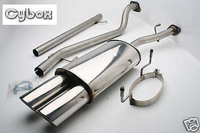 Astra G / Mk4 Coupe Cabriolet Stainless Steel Exhaust