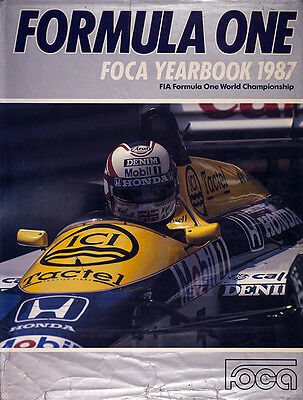 Formula One FOCA Yearbook 1987 -  definitive guide to the 1986 Formula 1 season