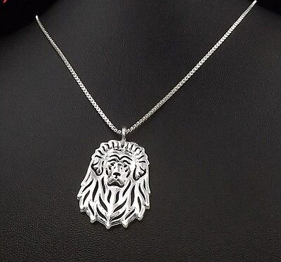 Tibetan Mastiff  3D pendant necklace dog collectible N 120