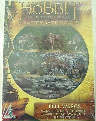 Citadel: The Hobbit: Fell Wargs Miniatures Set by Games Workshop  GAW32-10