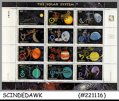 Marshall Islands - 1994 The Solar System / Space / Planets - M/s Mnh