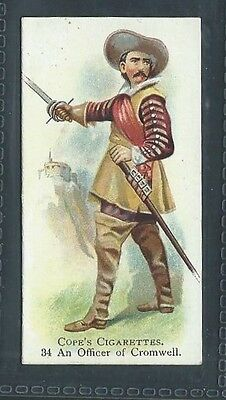 Cope British Warriors No 34 An Officer Of Cromwell