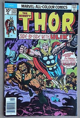 Marvel Comics - The Mighty Thor # 253, November 1976. Very good condition.
