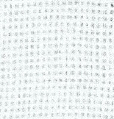 28ct Zweigart Cashel Linen Cross Stitch Fabric Fat Quarter 49 x 70cm White