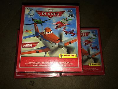 3 Sealed Boxes of Planes 1 Panini Stickers 150 Packs Clearance Party Bag Filler