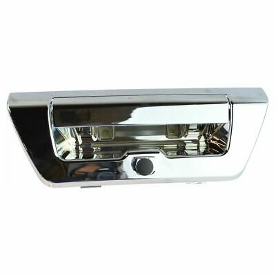 Manual Tailgate Handle Chrome Finish w Camera Provision for F150 Pickup Truck
