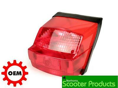 Bgm Vespa Px Rear Light Efl 1980-1984 Red Lense E Marked Tracked Post