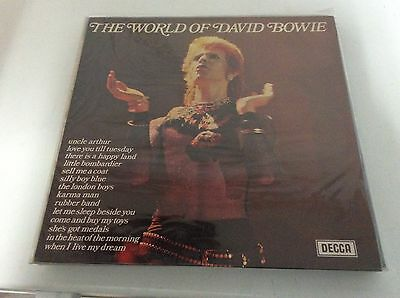David Bowie - The World Of David Bowie LP !! Decca Uk Press RARO!!! EX+/NM