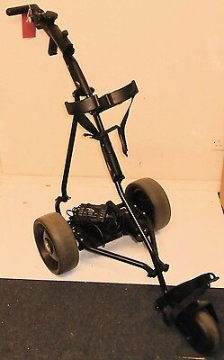 Powakaddy Electric Golf Trolley / Black Frame / Good Condition & Working Order