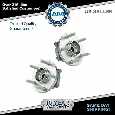 Front Wheel Hub & Bearing Left & Right Pair Set for Ford Taurus Flex MKS MKT