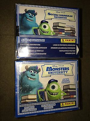 4 Boxes of Monsters University Stickers Panini Party Bag Filler CLEARANCE