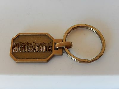Vintage OLDSMOBILE If Found Return To Key Chain Fob Mailbox Drop