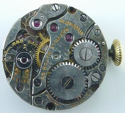 Blancpain Rayville Wristwatch Movement -  Spare Parts, Repair
