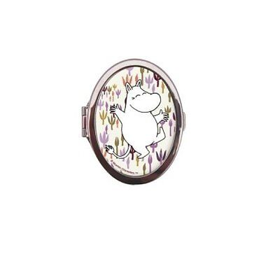 Compact Mirror - Moomin Flora. Double sided mirror.