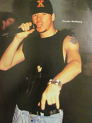 Donnie Wahlberg, New Kids on the Block, Jason Priestley, Full Page Pinup, NKOTB