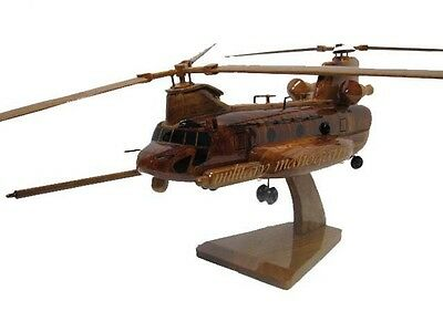 MH-47 MH-47E MH-47G 160th Night Stalkers Soar Chinook Helicopter Wood Model New