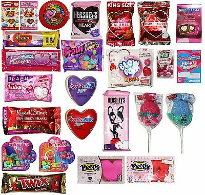 VALENTINES DAY Assorted Candy Treats CHOCOLATE+VARIOUS Exp. 8/18+ *YOU CHOOSE*