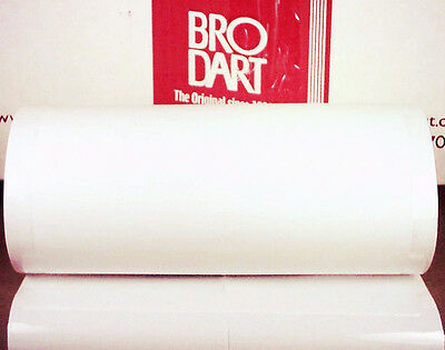 "20 Yard Roll 10"" Brodart FOLD-ON ARCHIVAL Book Jacket Covers super clear mylar"