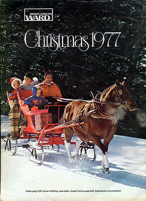 MONTGOMERY WARD CHRISTMAS Catalog for 1977 WARDS