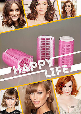 Fashion DIY Fast Hair Salon Curlers Rollers Tool Soft Large Hairdressing Tools