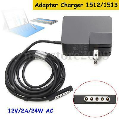 12V 2A 24W AC Adapter Charger 1512/1513 For Microsoft Surface RT / Pro 1/2