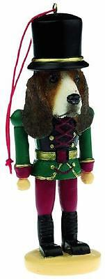 Basset Hound Soldier Dog Nutcracker Ornament Holiday Christmas Tree Decoration